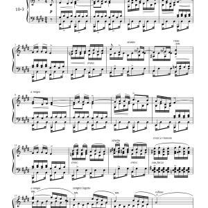 練習帳~CHOPIN-Etude:op10-3 販売のお知らせ