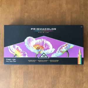 画材紹介|発色鮮やか色鉛筆の代表【プリズマカラー150色セット】
