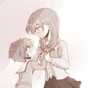 『ほっこりお姉さん と ツンデレ弟』 姉弟・おねショタラクガキ
