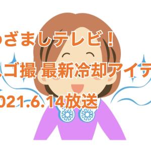 【めざましテレビ!】スゴ撮 最新 冷却アイテム ファン&ネッククーラー 2021年6月14日放送
