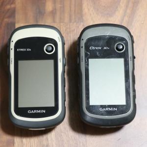 【GPSロガー】Garmin eTrex32x 導入編 30xとの比較レビュー(と思ったけど違いがなかった)