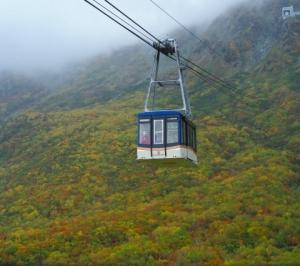 Gotoトラベル 立山黒部 その14 ロープウェイに乗る