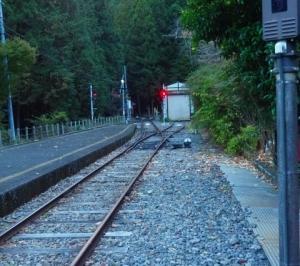 Goto 第二段 紅葉を求めて その11 「接祖温泉駅」
