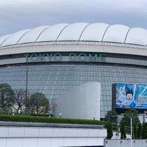 東京ドームに行ってきた。