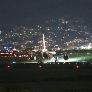 今日はコスモスの日 伊丹空港夜景_3