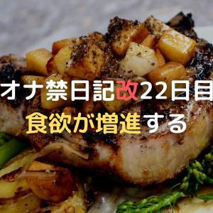 オナ禁日記改22日目 食欲が増進する