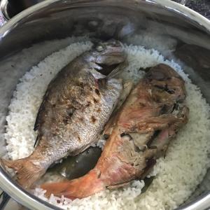 お気に入りのお鍋「ストウブ」で作るレシピ 鯛めし