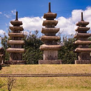 国の史跡【隼人塚】は鹿児島県霧島市の隼人駅のすぐ近くで見れます