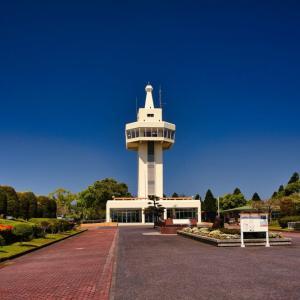 【国分城山公園】は錦江湾や桜島を望む国分高台にある公園!