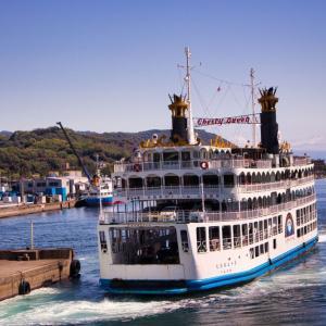 【桜島フェリー】で15分!鹿児島から桜島までの快適な船旅!