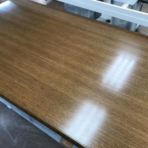 コの字型脚部テーブルの塗り直し