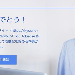 【ブログ開設3ヶ月目】Google AdSenseに合格しました!【記録】