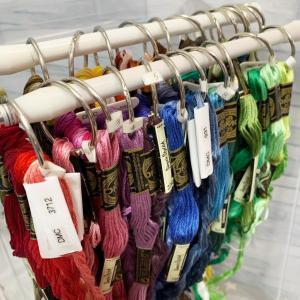 刺繍糸の収納方法