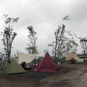 笠間市のにこにこキャンプ場に行ってきたよー