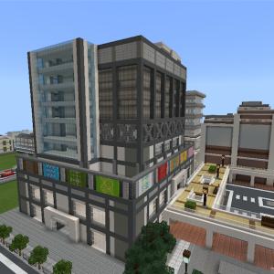 高層ビルを作る①  part1   [Minecraft]