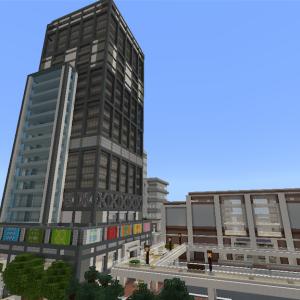 高層ビルを作る① part2    [Minecraft]