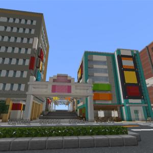 商店街を作る  part1  [Minecraft]