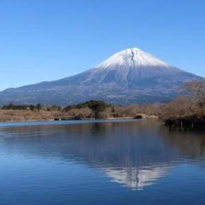 元日の田貫湖