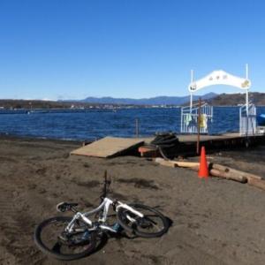 MTBで山中湖ぐるり探鳥
