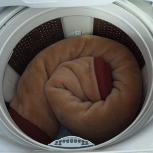 ビートウオッシュで毛布を洗ってみた