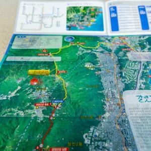 カルメッキル7-2コースを歩いてきました~せっかくなので、コースを外れて金井山(クムジョンサン)に登る~