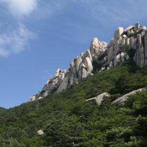 4泊5日雪岳山・江原道の旅~2日目①蔚山岩に登る~
