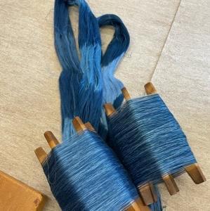 編みから織へ