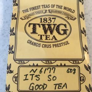 アイスティーにすると美味しい紅茶:TWG It's so good tea