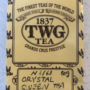 旦那の紅茶へのこだわり:TWG Crystal queen tea
