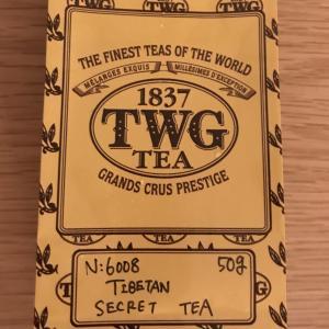 紅茶だけどハーブ風味:TWG Tibetan secret tea