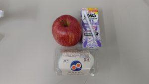 りんごとゆで卵ダイエット三十八日目