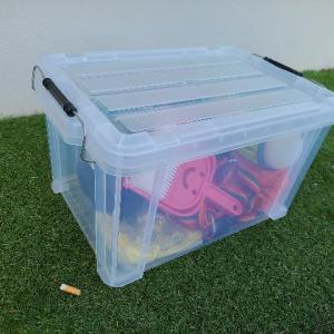 【キャンプ】収納ボックスは透明がいい2つの理由【忘れやすい僕の考えです】