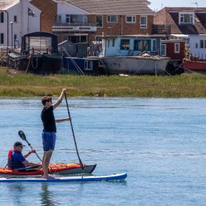 SUP or kayak ? Why  SUP fishing?