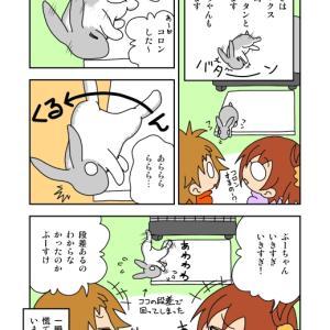 エッセイマンガよめよめ5ページ分!「仰向けうさぎ」他4本!