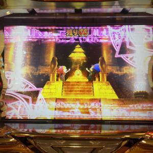 【大都祭り】クレアの秘宝伝 〜眠りの塔とめざめの石〜とPYRAMID EYEは初打ち