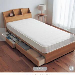 ベッドとテレビ台をどうしようかなの話