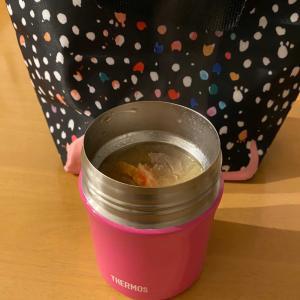 今日は、スープジャーで豚汁弁当