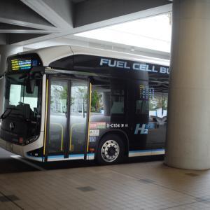 未来からやってきた水素バス