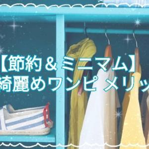 【節約&ミニマム】小綺麗めワンピ 別利点