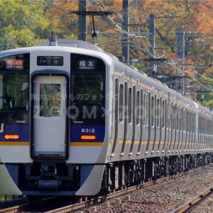 延命寺の紅葉散策と千早口駅付近で撮影(2020年11月14日)