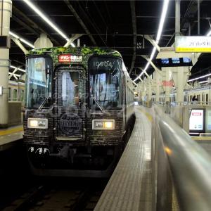 運行期間延長された「HYDEサザン」と近鉄特急を撮影(2020年11月16日)