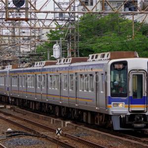 南海高野線住吉東駅で撮影しました(2021年5月26日)