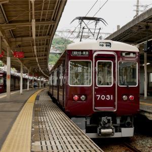 能勢電鉄6000系の動画撮影と阪急箕面線乗車(2021年5月28日)