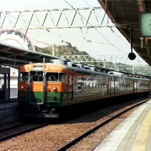 JR紀勢本線で活躍した165系と381系『くろしお』 (1990年)