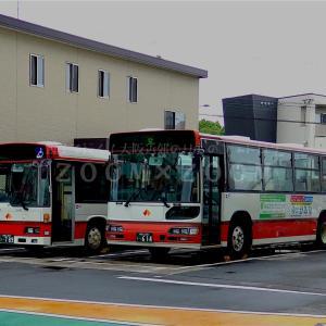 和歌山バスのブルーリボンシティツーステップ車に乗車(2021年7月2日)