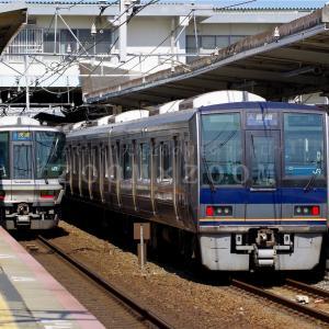 山陽本線須磨駅で撮影しました(2021年7月23日)
