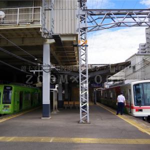 高野線すみっコぐらしラッピング列車が終日各停運用に(2021年9月5日)