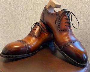 閑話休題・・靴を磨きました
