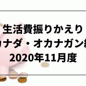 生活費振りかえり【2020年11月度/カナダ・オカナガン編】