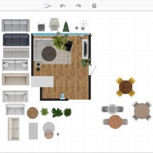 3Dシミュレーションでお部屋のコーディネート